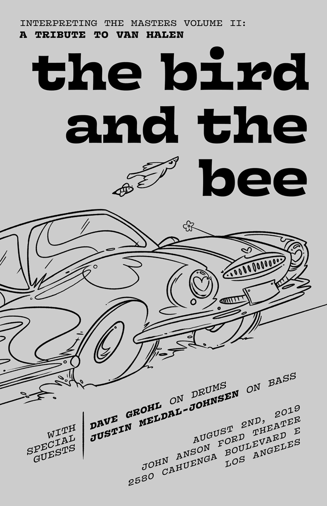 birdandthebee_poster_11x17_51119_OptionA_web