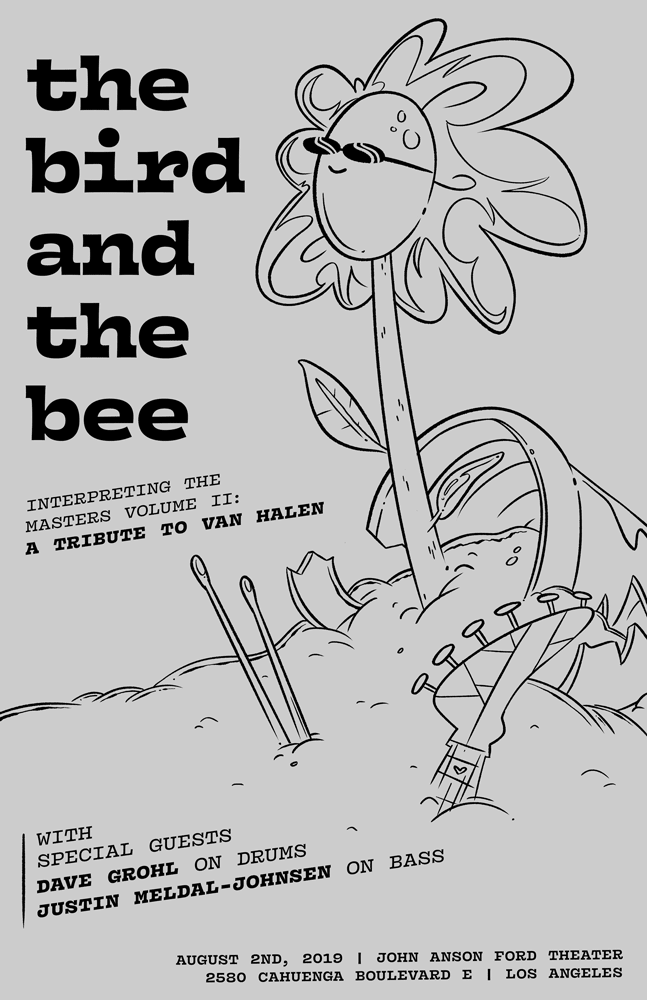 birdandthebee_poster_11x17_51119_OptionB_web